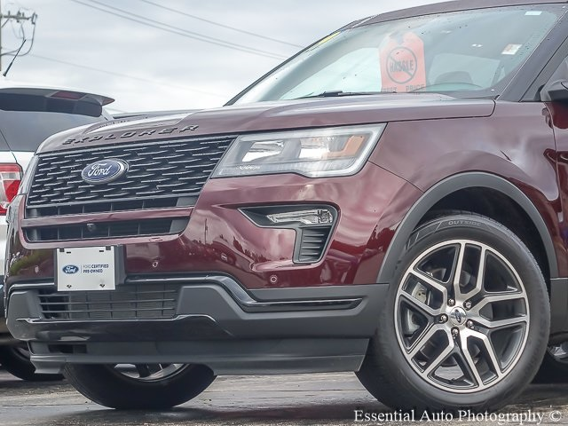 Certified Pre-Owned 2019 Ford Explorer Sport