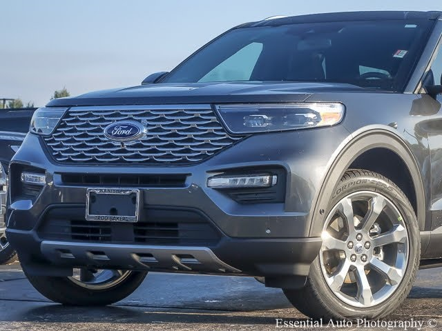 New 2020 Ford Explorer Platinum