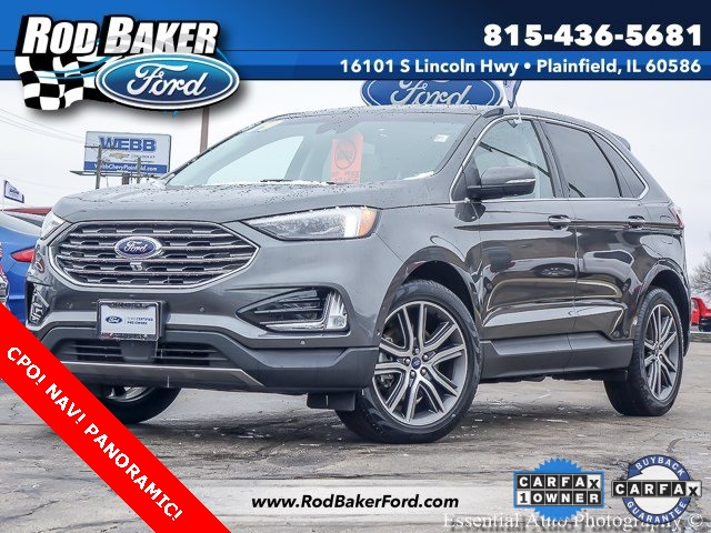 Certified Pre-Owned 2019 Ford Edge Titanium