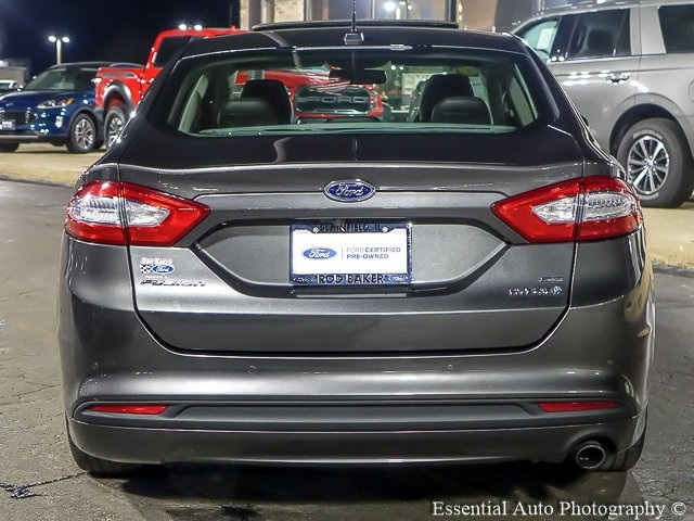 Certified Pre-Owned 2016 Ford Fusion Hybrid SE