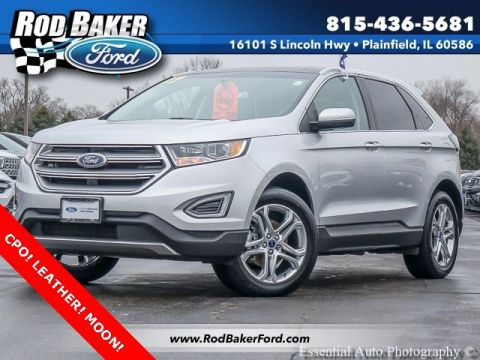 Certified Pre-Owned 2017 Ford Edge Titanium